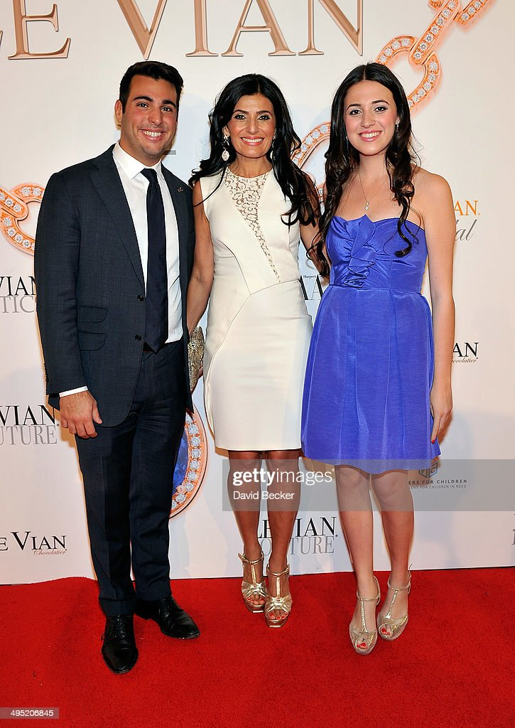 Jonathan LeVian, Miranda LeVian and Lexy LeVian arrive at the 2015 Le Vian Red Carpet Revue at the Mandalay Bay Convention Center on June 1, 2014 in Las Vegas, Nevada.