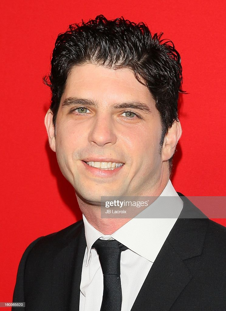 <a gi-track='captionPersonalityLinkClicked' href=/galleries/search?phrase=Jonathan+Levine+-+Director&family=editorial&specificpeople=2257910 ng-click='$event.stopPropagation()'>Jonathan Levine</a> attends the 'Warm Bodies' premiere held at ArcLight Cinemas Cinerama Dome on January 29, 2013 in Hollywood, California.