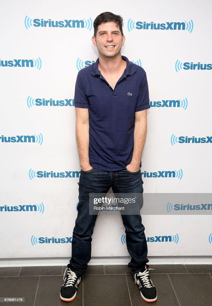 Jonathan Levine visits at SiriusXM Studios on May 2, 2017 in New York City.
