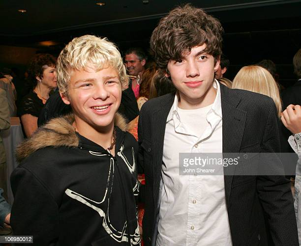 Jonathan Lipnicki and Carter Jenkins during 'Keeping Up With the Steins' Los Angeles Premiere After Party at Pacific Design Center in Los Angeles...