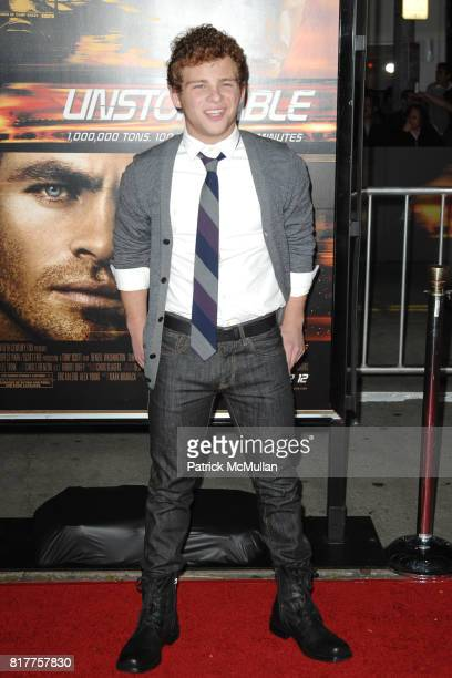 Jonathan Lipnicki attends UNSTOPPABLE World Premiere at Regency Village Theatre on October 26 2010 in Westwood California