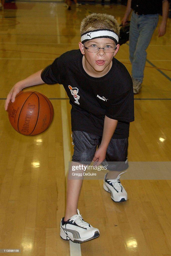 Jonathan Lipnicki during Frankie Muniz Hosts 'HoopLA' a Celebrity Basketball Game Which Benefits The Starlight Children's Foundation at Crossroads...