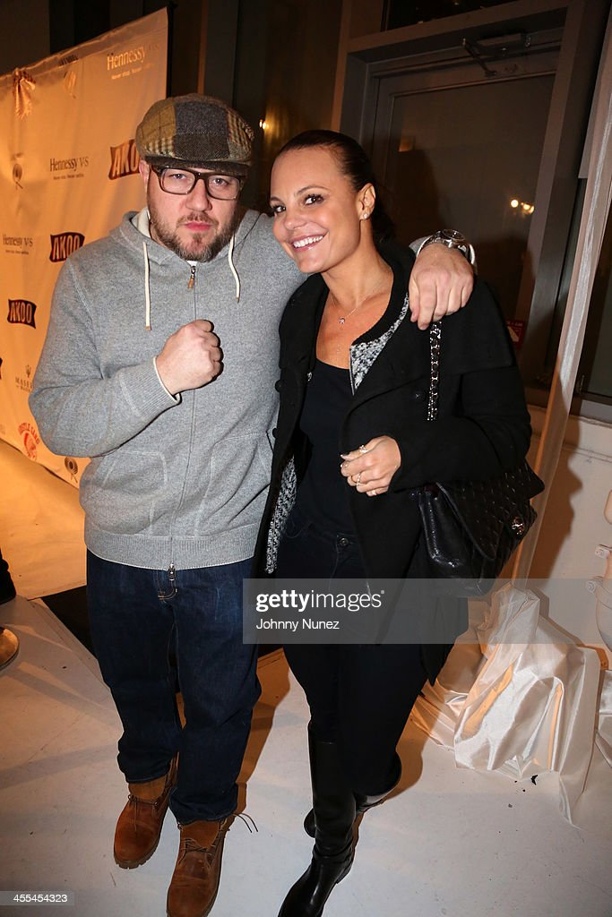 Jonathan Mannion and Deirdre Maloney attend the Book Of Kings launch event, hosted by T.I. and Iggy Azalea at Pillars 38 on December 11, 2013 in New York City.