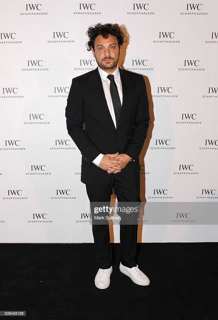 Jonathan Marthelmess attends the launch of IWC Schaffhausen's pilots watch launch at Sydney Theatre Company on May 5, 2016 in Sydney, Australia.