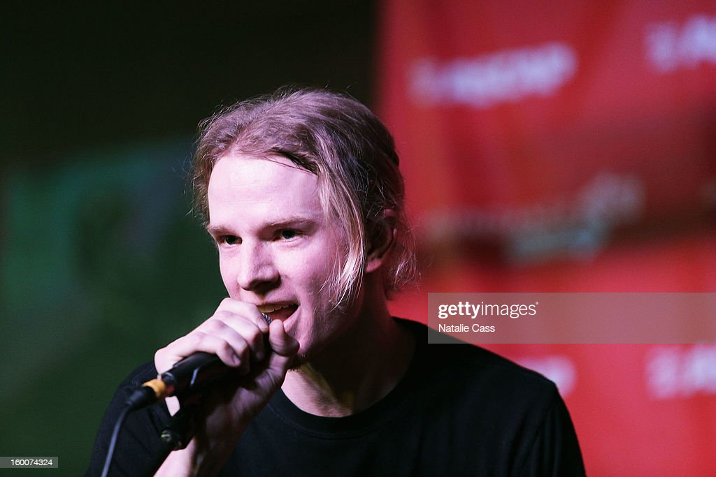 Jonathan Meyers attends the ASCAP Music Cafe Day 8 during the 2013 Sundance Film Festival at Sundance ASCAP Music Cafe on January 25, 2013 in Park City, Utah.