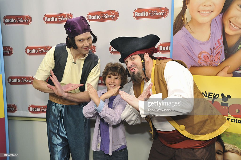 JUNIOR - Jonathan Morgan Heit rocked out with The Never Land Pirate Band from Disney Junior's upcoming animated series 'Jake and the Never Land Pirates' during an exclusive event at Radio Disney on Wednesday, January 26. 'Jake and the Never Land Pirates' premieres February 14 with the debut of the new Disney Junior block on Disney Channel. (Photo by Todd Wawrychuk/Disney XD via Getty Images)KEVIN