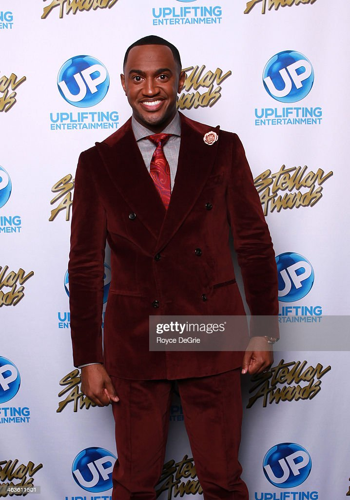 Jonathan Nelson backstage at the 2014 Stellar Awards at Nashville Municipal Auditorium on January 18, 2014 in Nashville, Tennessee.
