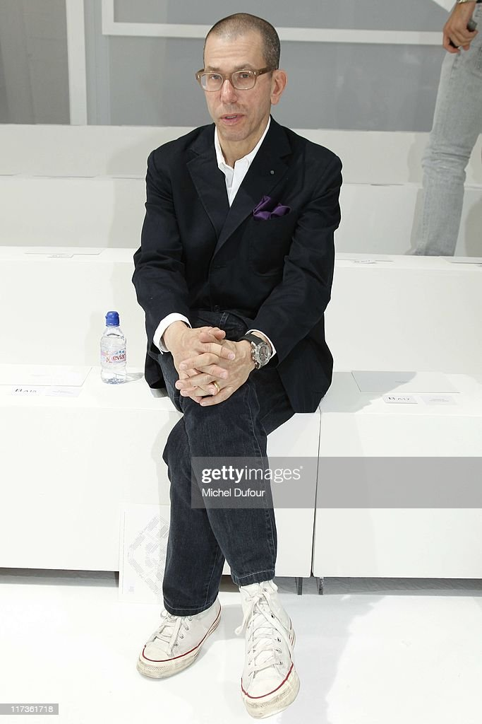 Jonathan Newhouse attends the Dior Homme Menswear Spring/Summer 2012 show as part of Paris Fashion Week at on June 25, 2011 in Paris, France.