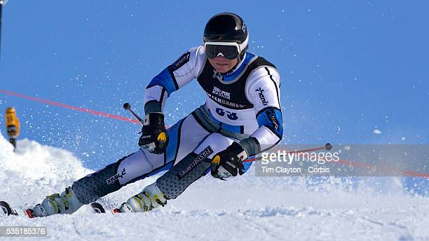 Jonathan Nordbotten Norway in action during the Men's Giant Slalom competition at Coronet Peak New Zealand during the Winter Games Queenstown New...
