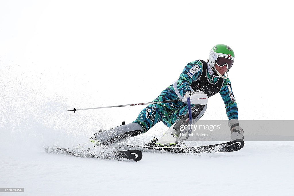 Jonathan Nordbotten of Norway competes during the Alpine Slalom (FIS Australia New Zealand Cup) during day seven of the Winter Games NZ at Coronet Peak on August 21, 2013 in Queenstown, New Zealand.