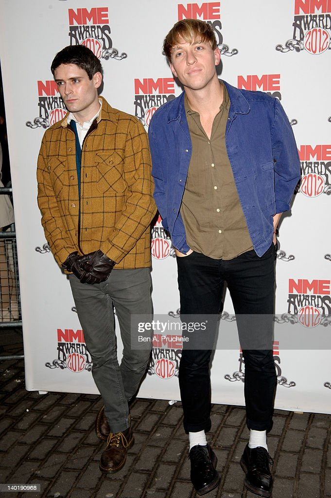 NME Awards 2012 - Arrivals