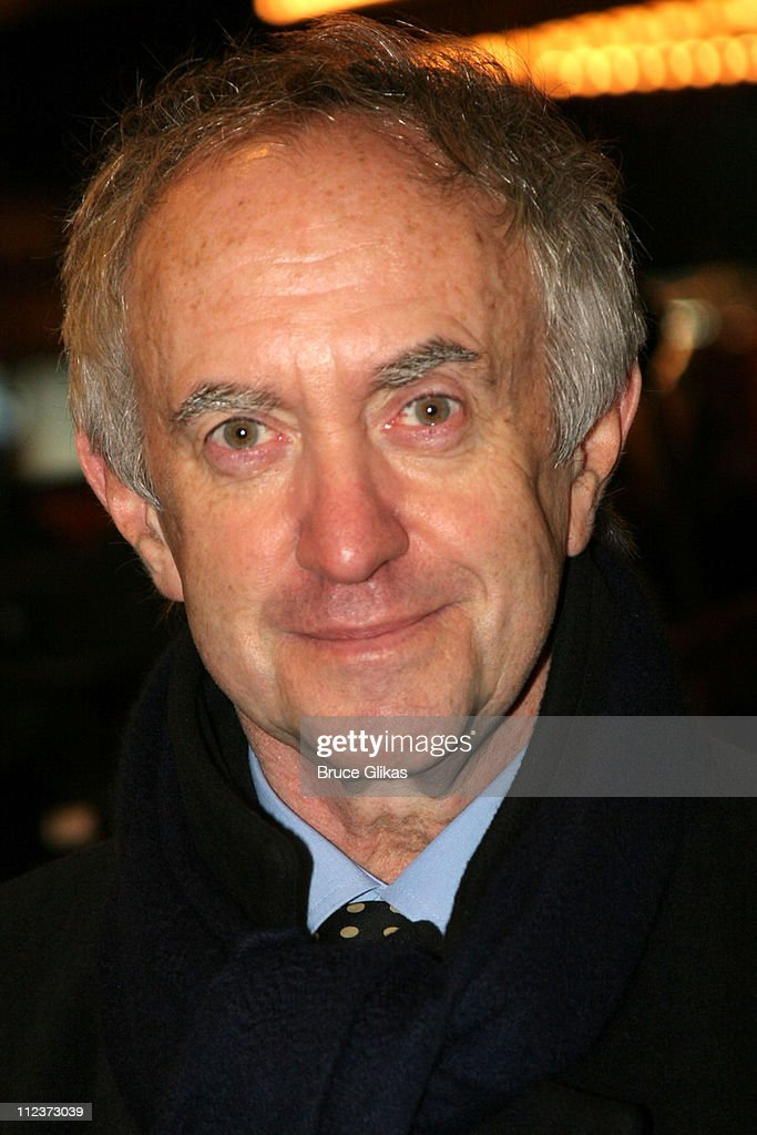 <a gi-track='captionPersonalityLinkClicked' href=/galleries/search?phrase=Jonathan+Pryce&family=editorial&specificpeople=209115 ng-click='$event.stopPropagation()'>Jonathan Pryce</a> during 'Chita Rivera: The Dancer's Life' Broadway Opening Night - Arrivals at The Gerald Schoenfeld Theatre in New York City, New York, United States.