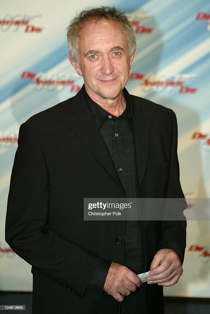 <a gi-track='captionPersonalityLinkClicked' href=/galleries/search?phrase=Jonathan+Pryce&family=editorial&specificpeople=209115 ng-click='$event.stopPropagation()'>Jonathan Pryce</a> during Special Screening of MGM's 'Die Another Day' at The Shrine Auditorium in Hollywood, CA, United States.