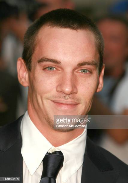 Jonathan Rhys Meyer during GQ Men of the Year Awards Outside Arrivals at Royal Opera House in London Great Britain