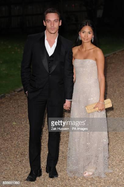 Jonathan Rhys Meyers and Reena Hammer arrives for the Raisa Gorbachev Foundation Annual Fundraising Gala Dinner at Hampton Court Richmond upon Thames...