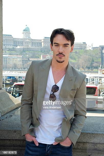 Jonathan Rhys Meyers at the 'Dracula' Set Visit on April 8 2013 in Budapest Hungary