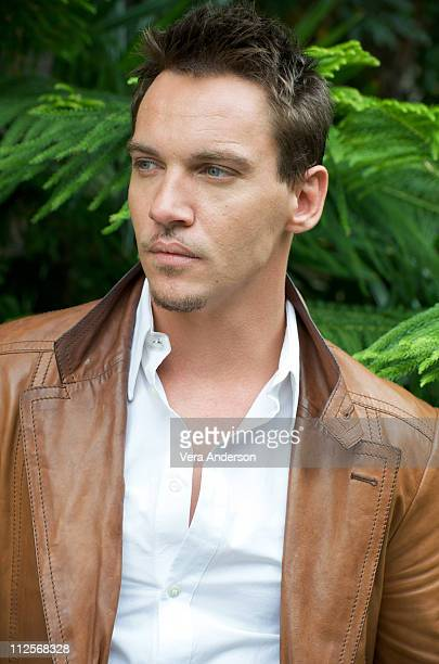 Jonathan Rhys Meyers at 'The Tudors' press conference at the Four Seasons Hotel on April 23 2009 in Beverly Hills California