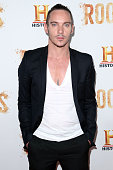 Jonathan Rhys Meyers attends as HISTORY presents night one of the epic event series 'Roots' at Alice Tully Hall on May 23 2016 in New York City