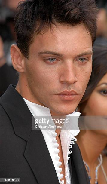 Jonathan RhysMeyers during 2005 Cannes Film Festival 'Match Point' Premiere in Cannes France