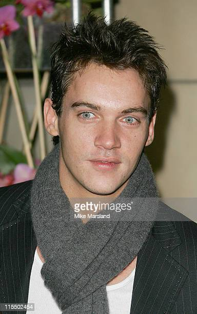 Jonathan RhysMeyers during British Fashion Awards 2004 Arrivals at Victoria and Albert Museum in London Great Britain