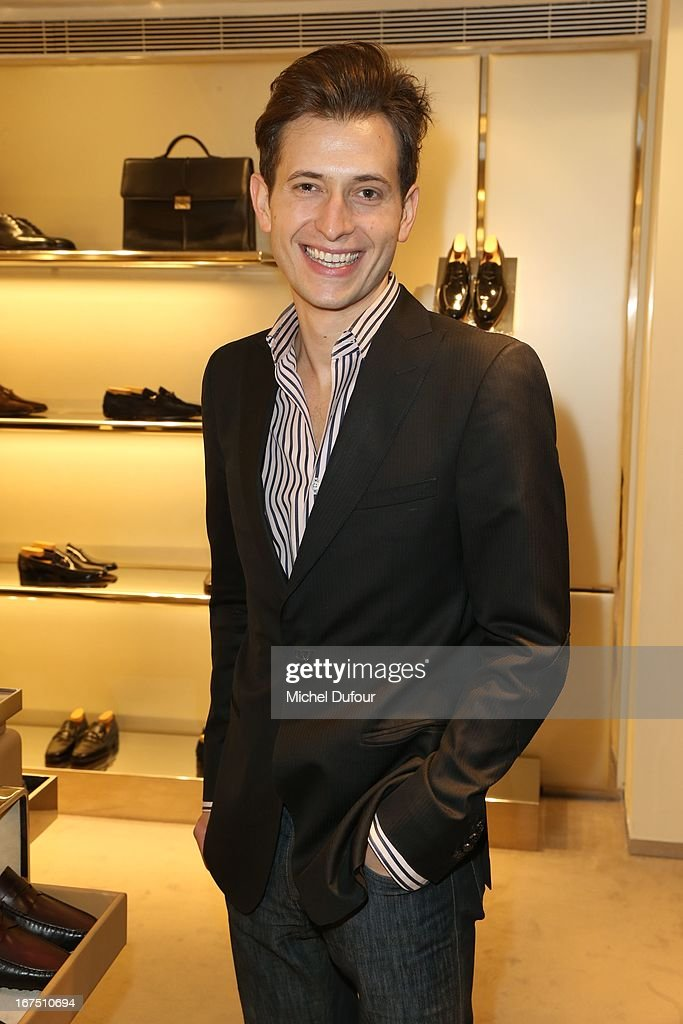 Jonathan Riss attends the 'D.D. Bag Collection' Launch Cocktail at Tods Shop on April 25, 2013 in Paris, France.