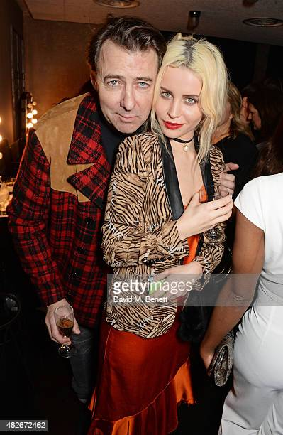 Jonathan Ross and Billie JD Porter attend the InStyle and EE Rising Star Party in association with Lancome Karen Millen and Sky Living at The Ace...