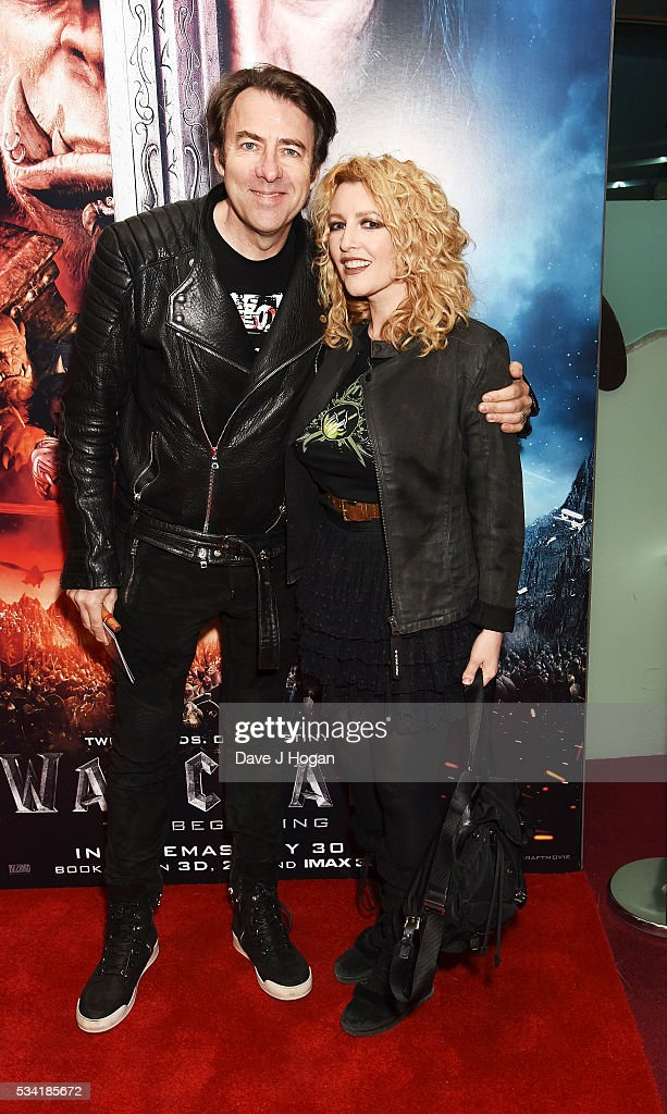 Jonathan Ross and <a gi-track='captionPersonalityLinkClicked' href=/galleries/search?phrase=Jane+Goldman&family=editorial&specificpeople=210687 ng-click='$event.stopPropagation()'>Jane Goldman</a> attend a special screening of 'Warcraft: The Beginning' at BFI IMAX on May 25, 2016 in London, England.