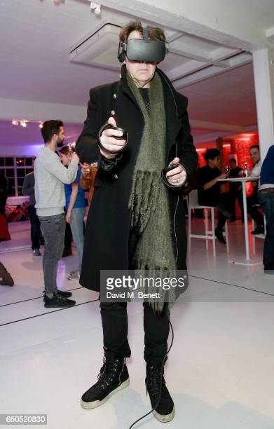 Jonathan Ross at the Oculus Game Days VIP opening night hosted by the Facebook owned virtual reality company Oculus on March 9 2017 in London England