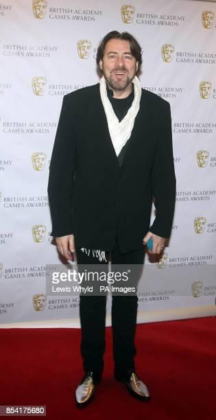 Jonathan Ross attending the British Academy Video Games Awards at the London Hilton Park Lane London