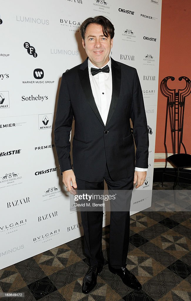 <a gi-track='captionPersonalityLinkClicked' href=/galleries/search?phrase=Jonathan+Ross&family=editorial&specificpeople=204595 ng-click='$event.stopPropagation()'>Jonathan Ross</a> attends a BFI Luminous Gala ahead of the London Film Festival at 8 Northumberland Avenue on October 8, 2013 in London, England.