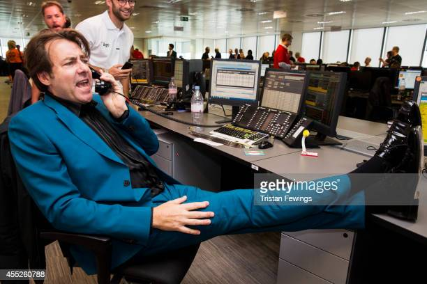 Jonathan Ross attends the annual BGC Global Charity Day at BGC Partners on September 11 2014 in London England