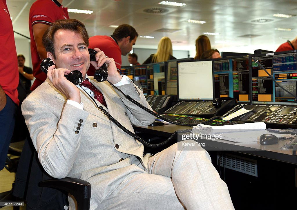 Jonathan Ross attends the annual BGC Global Charity Day at BGC Partners on September 11, 2015 in London, England.