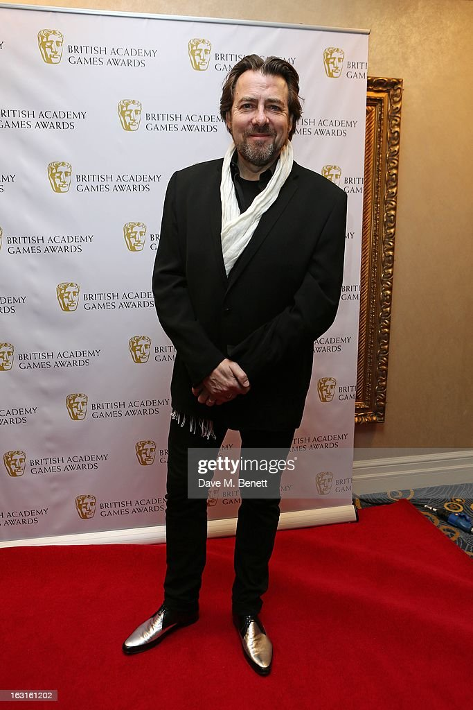 <a gi-track='captionPersonalityLinkClicked' href=/galleries/search?phrase=Jonathan+Ross+-+Engelsk+TV-profil&family=editorial&specificpeople=204595 ng-click='$event.stopPropagation()'>Jonathan Ross</a> attends The British Academy Games Awards at London Hilton on March 5, 2013 in London, England.