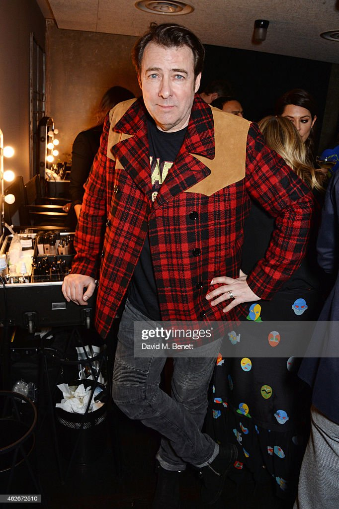 Jonathan Ross attends the InStyle and EE Rising Star Party in association with Lancome, Karen Millen and Sky Living at The Ace Hotel on February 2, 2015 in London, England.