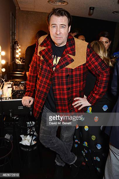 Jonathan Ross attends the InStyle and EE Rising Star Party in association with Lancome Karen Millen and Sky Living at The Ace Hotel on February 2...