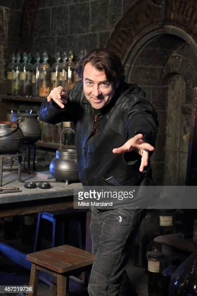 Jonathan Ross attends the launch of the first new permanent feature devoted to The Dark Arts at Warner Bros Studio Tour London on October 14 2014 in...