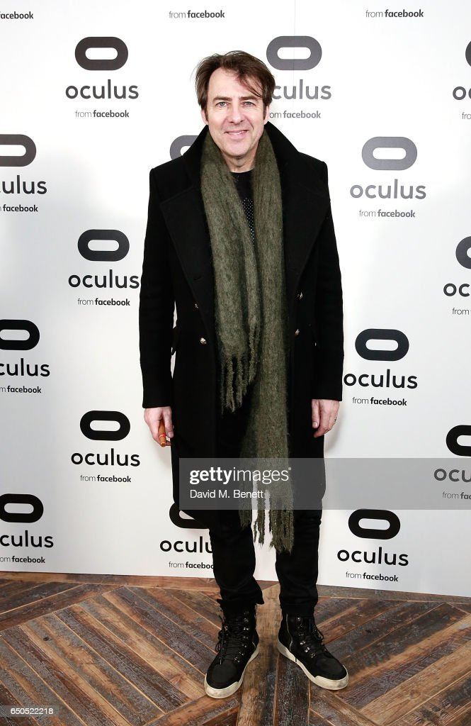 Jonathan Ross attends the Oculus Game Days VIP opening night, hosted by the Facebook owned virtual reality company Oculus, on March 9, 2017 in London, England.