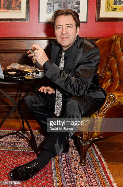 Jonathan Ross attends The Snow Queen Cigar Smoker of the Year Awards Dinner 2015 at Boisdale Canary Wharf on December 1 2015 in London England
