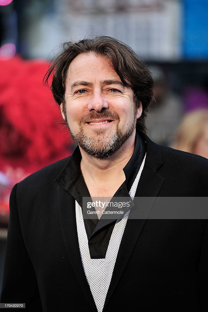 Jonathan Ross attends the UK Premiere of 'Man of Steel' at Odeon Leicester Square on June 12, 2013 in London, England.
