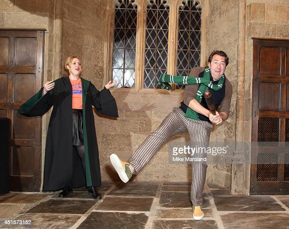 Jonathan Ross attends the Warner Bros Studio Tour Summer Screenings at the Warner Bros Studio Tour London on July 1 2014 in Watford England