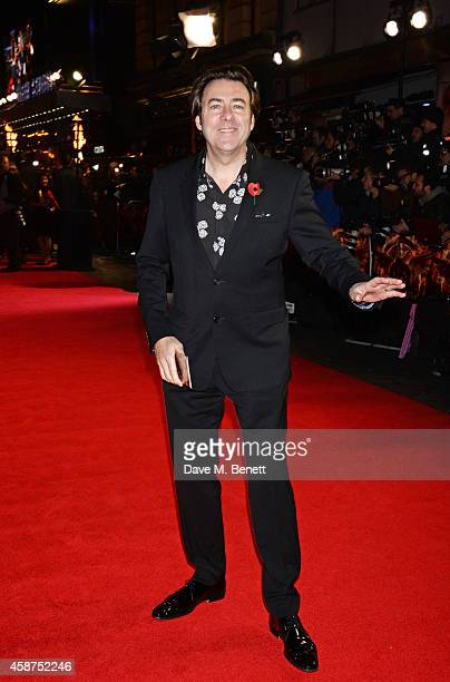 Jonathan Ross attends the World Premiere of 'The Hunger Games Mockingjay Part 1' at Odeon Leicester Square on November 10 2014 in London England