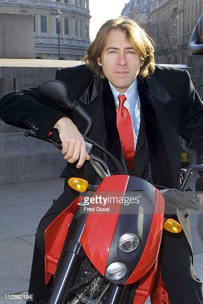 Jonathan Ross during Congestion Charge Awareness Campaign at Trafalgar Square in London Great Britain