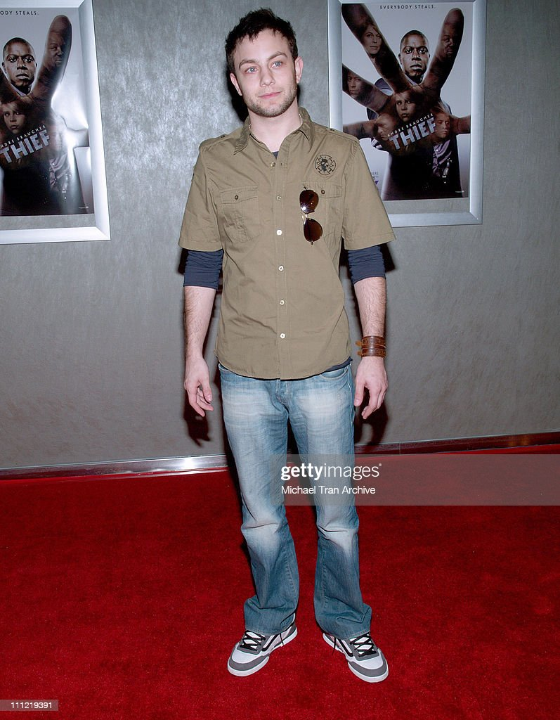 Jonathan Sadowski during 'Thief' Los Angeles Premiere - Inside Arrivals at Pacific Design Center in West Hollywood, CA, United States.