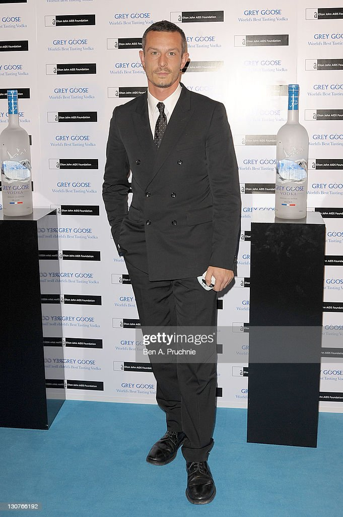 Jonathan Saunders attends the Grey Goose Winter Ball at Battersea Park on October 29, 2011 in London, England.