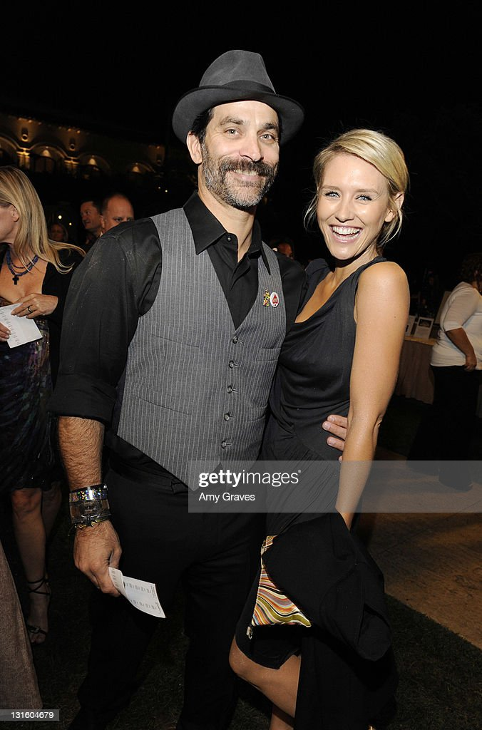 Jonathan Schaech and Nicky Whelan attend the Ante-Up for Autism Event at St. Regis Monarch Beach Resort on November 5, 2011 in Dana Point, California.