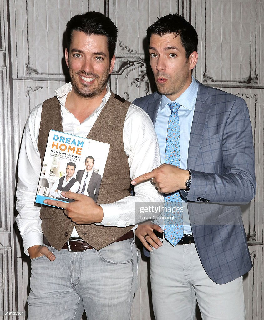 jonathan scott and drew scott attend aol build at aol on april 4 in - Drew Scott