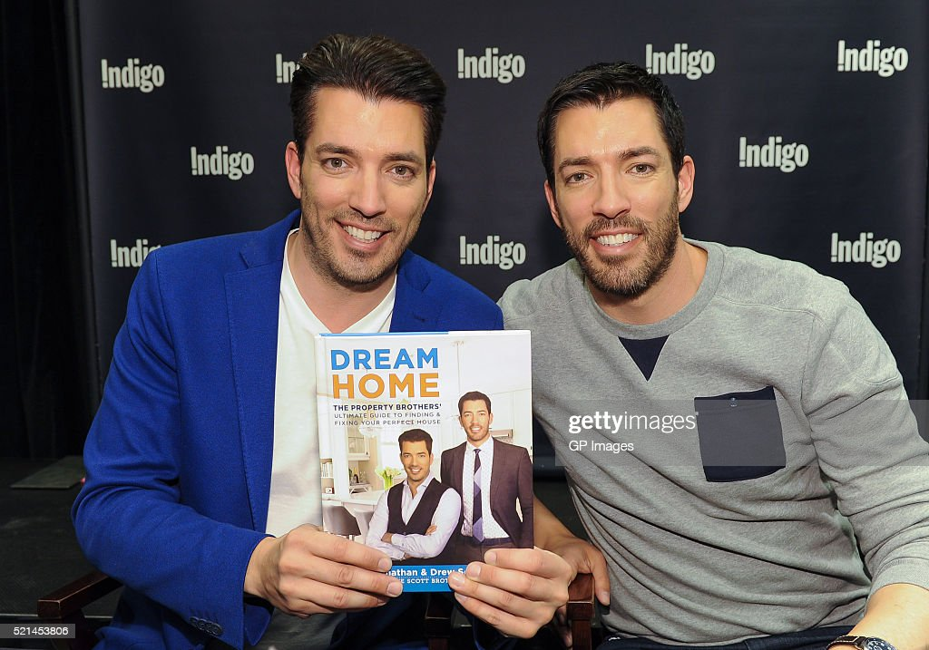 Property brothers launch their new book dream home Drew jonathan property brothers