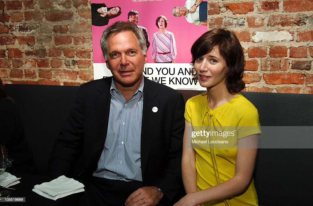 Jonathan Sehring executive producer/president of IFC Entertainment and Miranda July