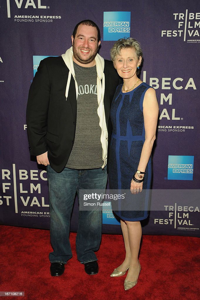 Jonathan Shukat and Yvonne Marceau attend the 'Dancing In Jaffa' World Premiere at the AMC Loews Village 7 during the 2013 Tribeca Film Festival on April 20, 2013 in New York City.