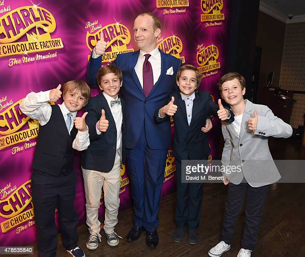 Jonathan Slinger attends Charlie and the Chocolate Factory second birthday after party at Sway on June 25 2015 in London England